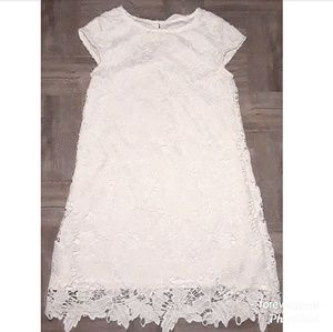 H&M lace embroidered dress